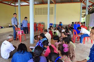 Photo: Group discussion, TOT4 , Tha Tum , Surin