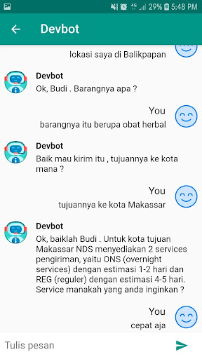 Devbot screenshot 2