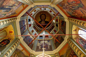 Photo: The southern chapel is dedicated to the Velikoretskaya (Velikaya River) Icon of St. Nicholas the Miracle-Worker.