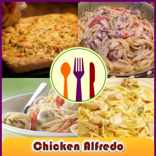 치킨 알프레도 조리법 健康 LOGO-玩APPs