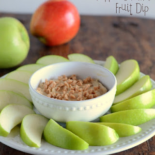Toffee Caramel Fruit Dip