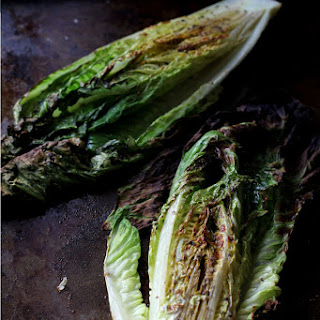 "How to ""Grill"" Lettuce ~ Broiled Romaine."