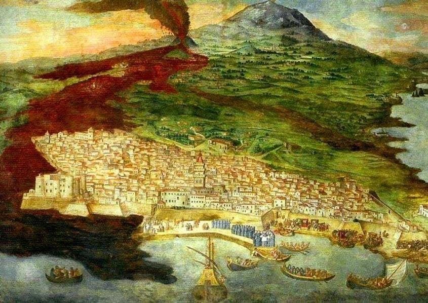 Eruzione Etna 1669 Catania