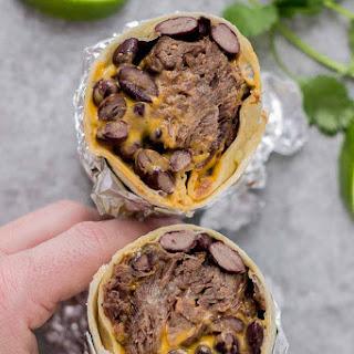 Braised Beef Nacho Burritos.