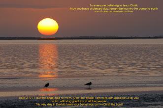 Photo: Sunset at the lagoon, Walvisbaai, Namibia