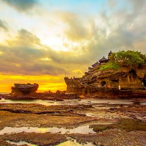 Tanah Lot - Bali by Abdul Rahman - Landscapes Sunsets & Sunrises