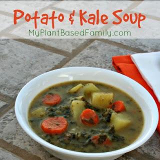 Potato Kale Soup Recipe