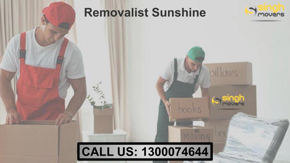 Removalists Sunshine