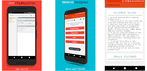Web Server PHP|MyAdmin|MySQL - Apps on Google Play