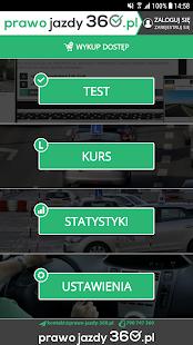 Testy na Prawo Jazdy 360 - náhled