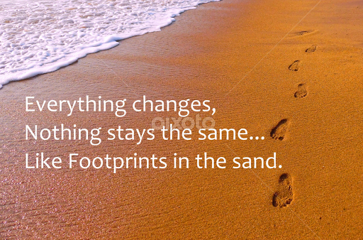 Footprints In The Sand Quotes Sentences Typography Pixoto