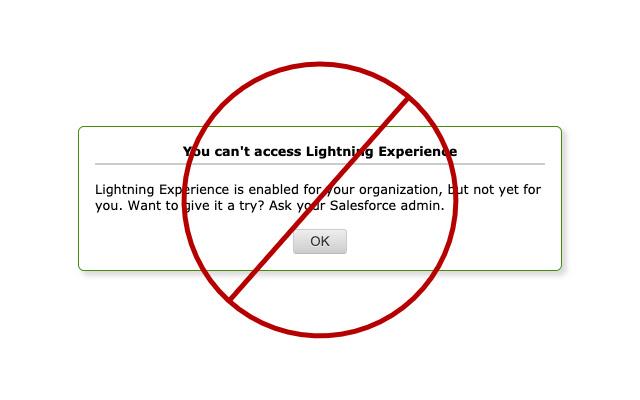 Salesforce Lightning to Classic URL