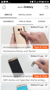 meinGalaxy – Miniaturansicht des Screenshots