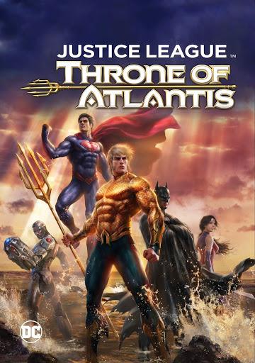 Justice League Throne Of Atlantis Deutsch