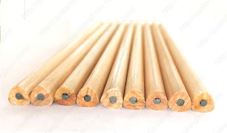 Bút chì tam giác bằng gỗ, giá rẻ