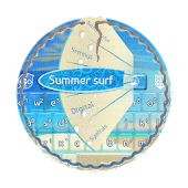 Summer surf GO Keyboard