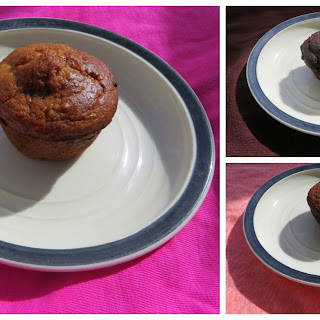 Chickpea-Almond Muffins.