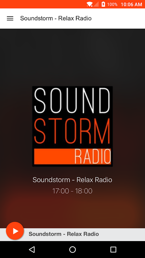 Soundstorm - Relax Radio- screenshot