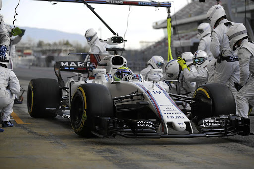 IT is crucial in making sure an F1 pit stop takes only seconds. Picture: WILLIAMS F1