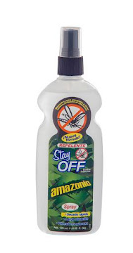 Repelente STAY OFF Spray   Amazonic Contra Insectos x120Ml
