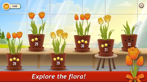 Solitaire TriPeaks Rose Garden: love flowers 2020 screenshots 6