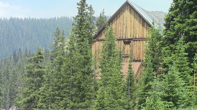 Photo: Abandonded building (boarding house) at Lake Alta, Colorado, at about 9,000 ft.  Was once a 'thriving' mining community.  Archaeology deals with both prehistoric and historic sites.  The area is within site of Lizard Head Pass.
