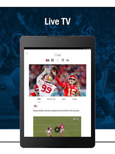 FOX Sports: Latest Stories, Scores & Events screenshots 11