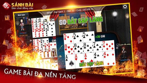 Su1ea2NH Bu00c0I - Game bai, danh bai 3.0.3 screenshots 6