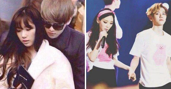 Taeyeon und baekhyun Dating