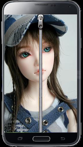 Pretty Doll Screen Lock