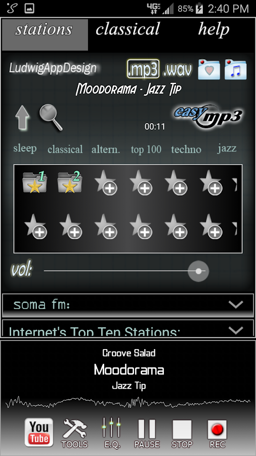 Internet Radio Recorder Pro- screenshot