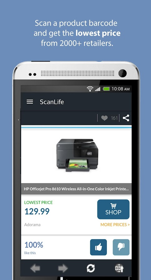 ScanLife Barcode & QR Reader- screenshot