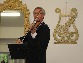 Photo: Juozas Staniulis (smuikas)