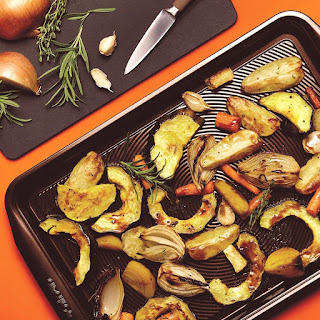Roasted Root Vegetables with Balsamic Glaze
