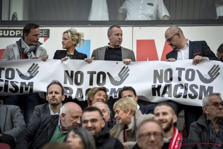 📷 Le Standard et ses supporters ont encore montré l'exemple dans la lutte contre le racisme