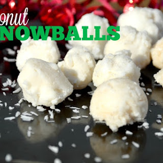 Easy Coconut Snowballs.