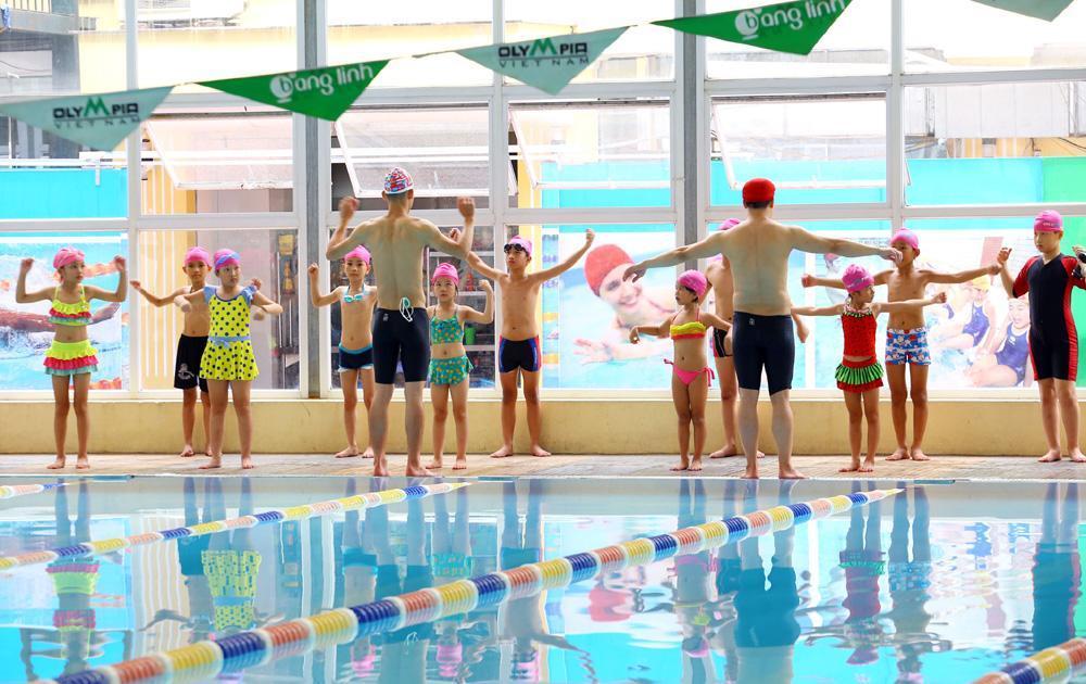 Kết quả hình ảnh cho khởi động trước khi bơi