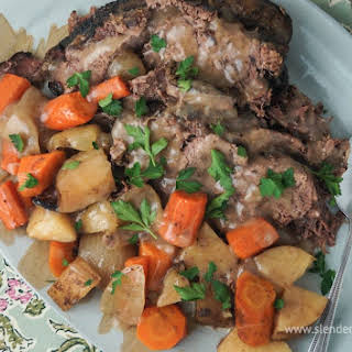 Sunday Slow Cooker: Pot Roast and Potatoes.