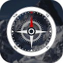 Compass free: directions app & compass real estate icon