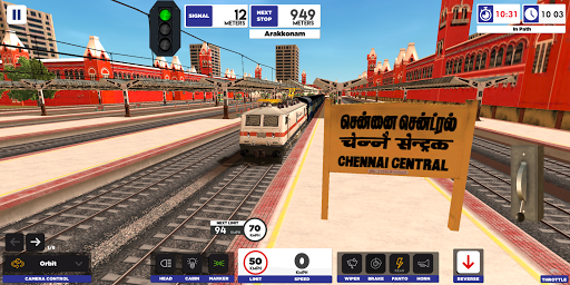 Télécharger Indian Train Simulator mod apk screenshots 1