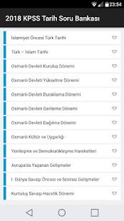 2018 KPSS Tarih Soru Bankası - náhled