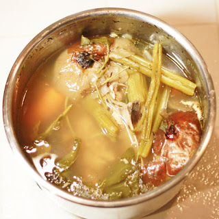 TLC - Duo Run - Fast and Savoury Turkey Stock in the Instant Pot x 2.