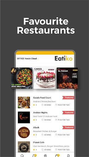 Eatiko - Screenshots von Food Delivery & Restaurant Finder 4