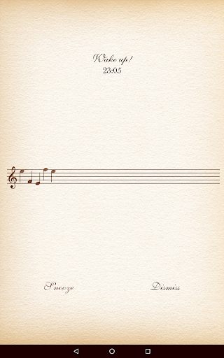 Classical Music Alarm Clock - screenshot