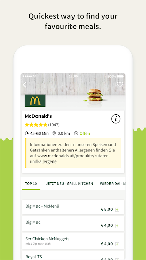 Mjam.at - Online food delivery  screenshots 3