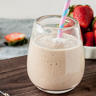 Strawberry Coconut-Lime Smoothie.