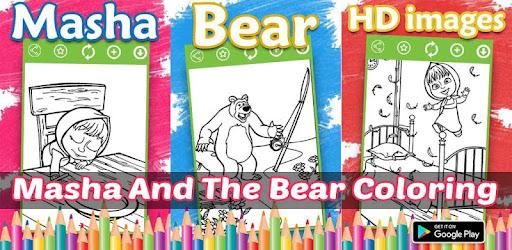 Masha And The Bear Coloring Book On Windows PC Download Free - 1.0.6 -  Com.mashaandbearcoloringpages.game