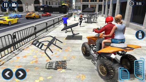 ATV Quad Bike Simulator 2020: Bike Taxi Games 3.1 screenshots 9