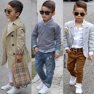 fasion small children - náhled
