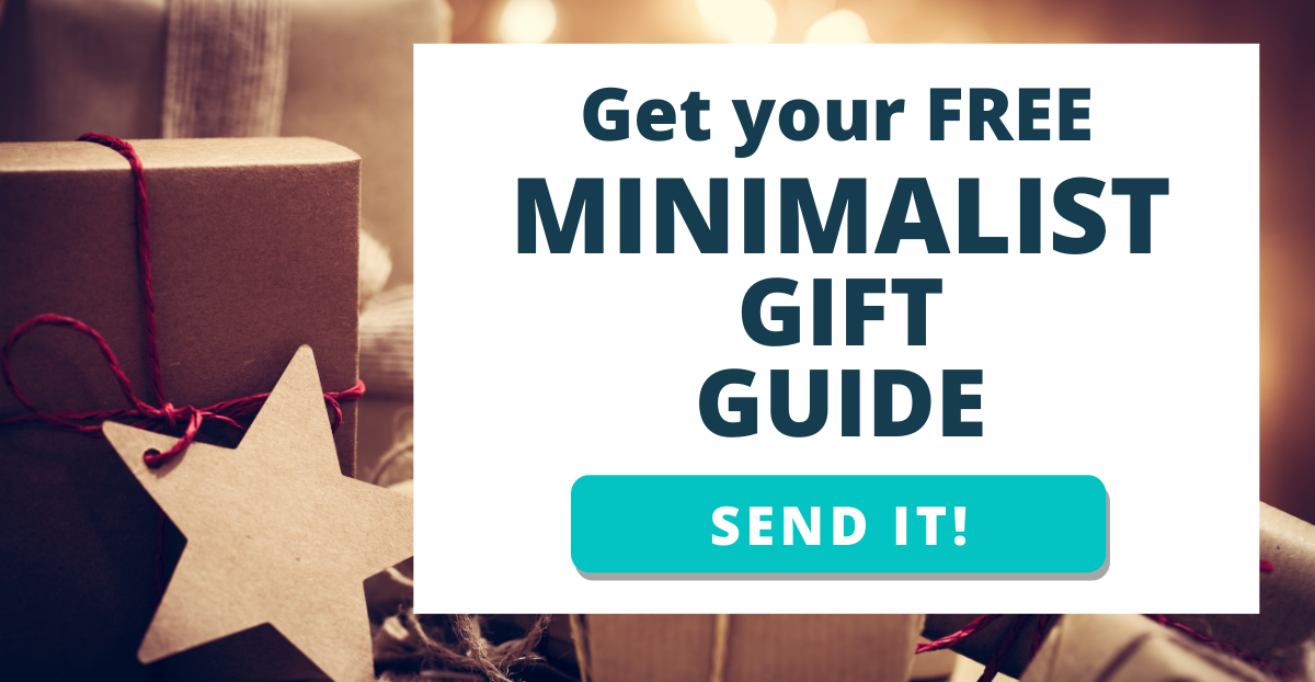 FREE Minimalist Gift Guide